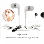 Cwxuan USB3.1 Type-C In-Ear Wired Earphone with Mic, Volume Control