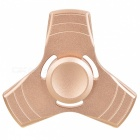 BLCR Tri-Spinner Fidget Toy EDC Finger Spinner - Golden