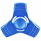 BLCR Tri-Spinner Fidget Toy EDC Finger Spinner - Blue