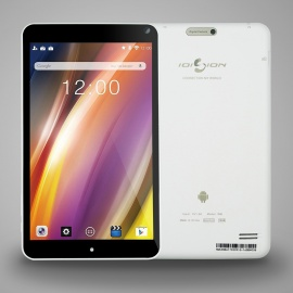 Ioision 8inch Quad-Core Allwinner A64 Android 6.0 Tablet PC - White