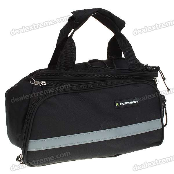 Bike Bicycle Frame Pannier Front Tube Bag with Rain Waterproof Cover