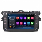 Android 6.0.1 DVD Car Player Radio, navigation GPS avec MIC externe pour 2007-2011 Toyota Corolla