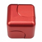 ZHAOYAO Magic Cube Hand Spinner Square Finger Gyro - Red