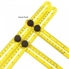 BLCR Angleizer Template Tool Multi Angle Measuring Ruler