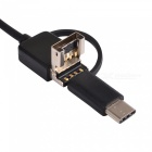 BLCR 3-i-1 7mm 6-LED Vattentät USB Typ-C Android PC Endoskop (1m)