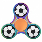 E-SMARTER Footballl Pattern Stress Relief Toy EDC Spinner - Multicolor