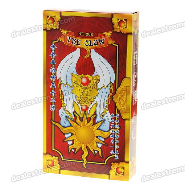 The Clow Tarot Anime Sakura Card Captor (52-Piece Set)