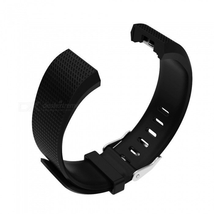 Replacement TPE TPU Wristband Set For Fitbit Charge 2 - BlackWearable Device Accessories<br>Form  ColorBlackQuantity1 DX.PCM.Model.AttributeModel.UnitMaterialTPE + TPUPacking List1 x Wristband(128mm)1 x Wristband(106mm)<br>