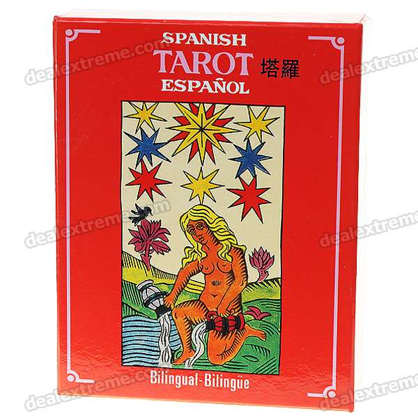 Vintage Spanish/English Bilingual Tarot Cards