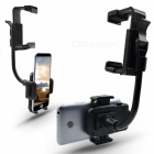 Car Mount Holder Cellphone Stand Rear-view Mirror Clip for GPS/PDA/MP3