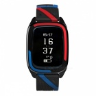 DMDG Sport Blood Pressure Heart Rate Monitor Smart Bracelet - Blue