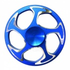 Dayspirit Wheel Shaped Stress Relief Finger Gyro Rotator - Blue