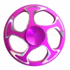 Dayspirit Wheel Shaped Stress Relief Finger Gyro Rotator - Deep Pink