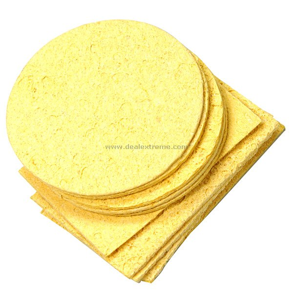 Temperature Tolerant Solder Tip Cleaning Pads (10-Pack)