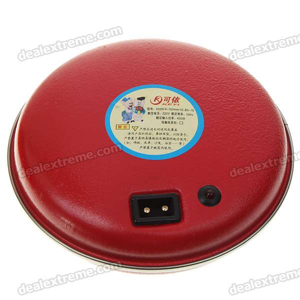 400W Rechargeable Hand Warmer with Plush Bag (220V)