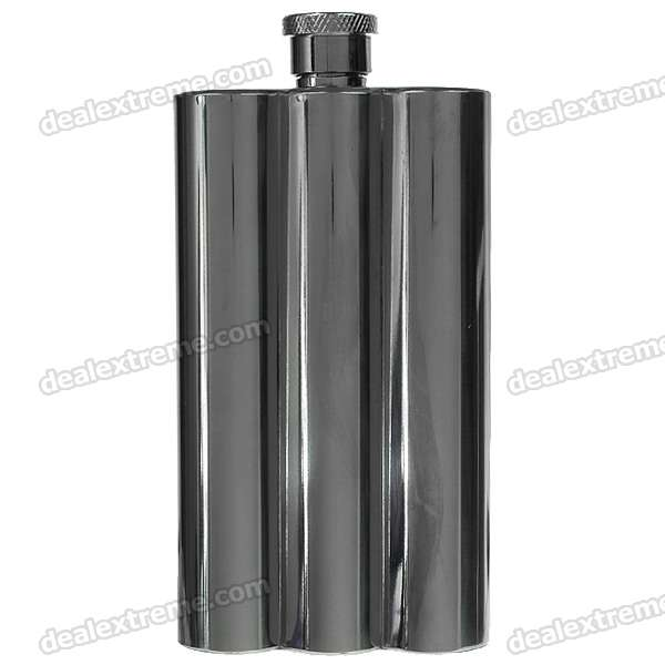 Stainless Steel Pocket Liquor Flask with Funnel (6oz/170g)