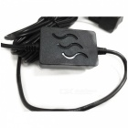 Radar Microwave Induction Buck Line Cable for Car DVR - Black