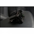 Car MP3 Bluetooth MP3 Player, Dual USB Ports, FM transmitter - Black