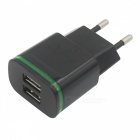 Universal Travel 5V Dual Port USB Power Adapter Charger