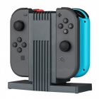 Quad Charging Dock Charger for Nintendo Switch Joy-Con - Black