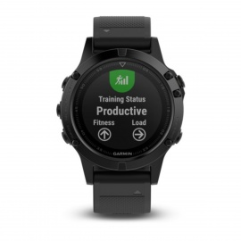 GARMIN Fenix ​​5 Sapphire HR Versão Inglesa Smart Watch - Preto