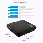 Android 7.1 TV Box 16GB ROM Amlogic S912 64bit, EU Plug - Black