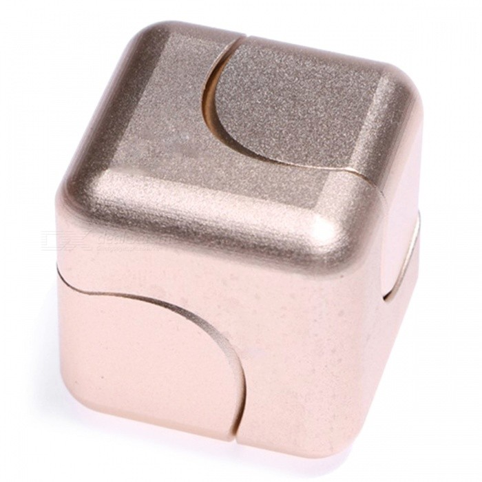 OJADE Rubiks Cube Shape Hand Spinner EDC Toy for ADHD - Rose GoldenFinger Toys<br>Form  ColorRose GoldMaterialAlloyQuantity1 DX.PCM.Model.AttributeModel.UnitSuitable Age Grown upsPacking List1 x Spinner<br>