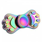 Mr.northjoe Paw Prints Fidget Relief Toy EDC Hand Spinner - Colorful