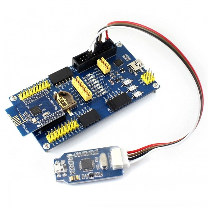 Waveshare Bluetooth 4 0 NRF51822 Eval Kit with ARM Debugger Programmer
