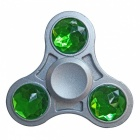 Dayspirit Emerald Decorated Tri Style Stress Relief Toy - Green