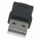 Cwxuan USB 3.1 Type-C Male to USB 2.0 Adaptateur d'extension mâle - Noir