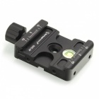 Aluminum Head Quick Release Clamp for DSLR 37mm Tripod