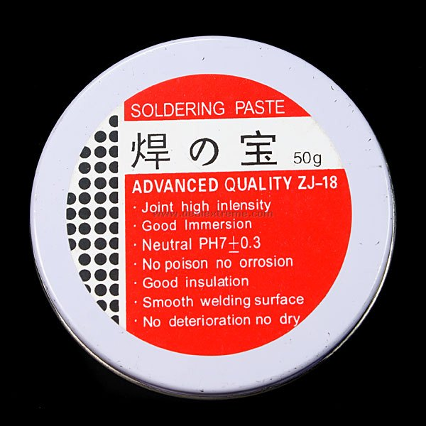 PH7 Soldering Flux - Yellow (45g)