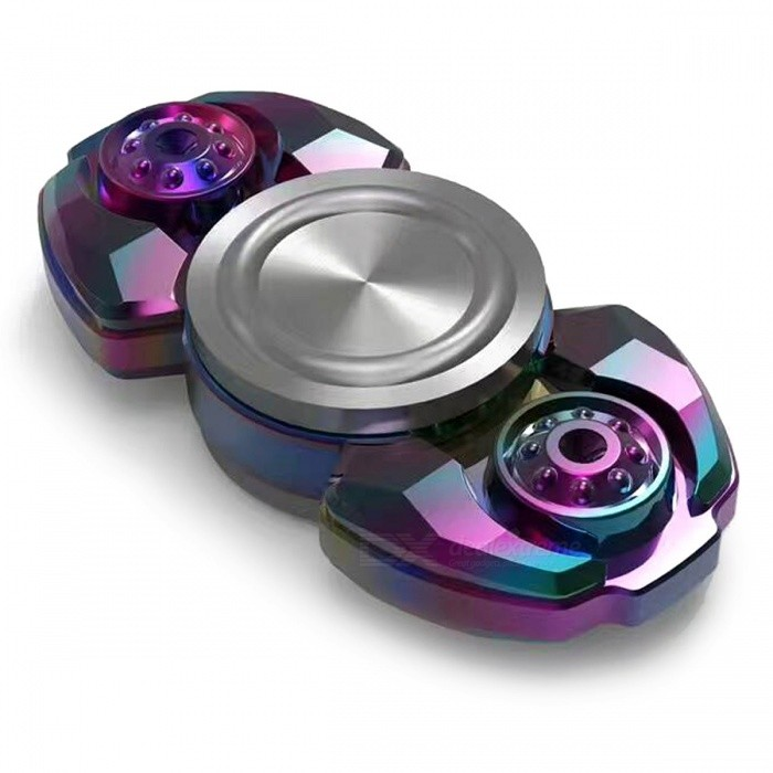 OJADE Hand Spinner Fidget Relief Fingertip Gyro Toy - Coloré