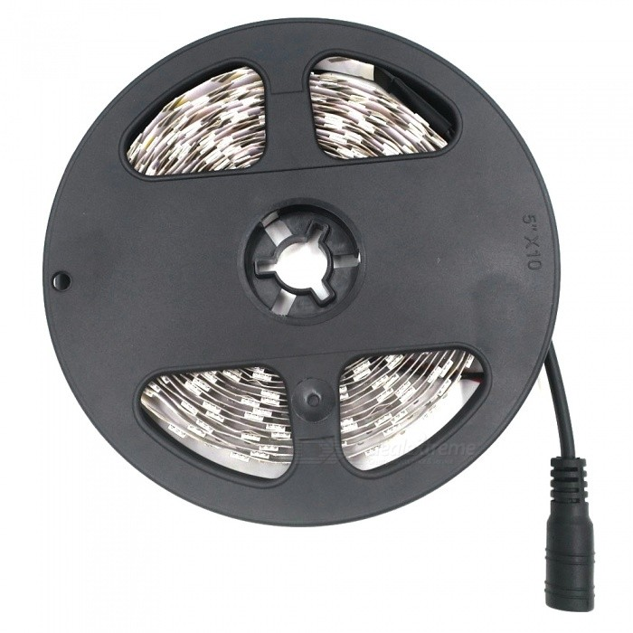 SZFC Non-Waterproof 5m 600-LED Strip Warm White With EU Power Adapter3528 SMD Strips<br>Form  ColorWhite + Black + Multi-ColoredColor BINWarm WhiteMaterialCircuit boardQuantity1 setPowerOthers,60WRated VoltageDC 12 VEmitter Type3528 SMD LEDTotal Emitters600Color Temperature2700-3500KWavelength0Theoretical Lumens6000 lumensActual Lumens10-2500 lumensPower AdapterEU PlugPacking List1 x LED strip1 x EU plug charger (Input: AC100-240V, Output: DC-12V/2A)<br>