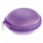 Round Fingertip Gyro Storage Box for Storing Small Items - Purple