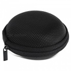 Round Fingertip Gyro Storage Box for Storing Small Items - Black