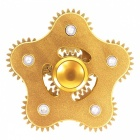Dayspirit Gear Shaped Stress Relief Finger Gyro Rotator - Golden