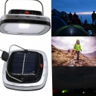 3W USB Portable Solar Panel Power LED ampoule lampe à froid blanc