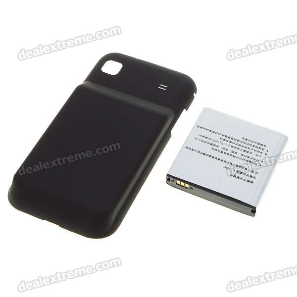 Replacement 3.7V 2800mAh Lithium Battery + Rear Cover for Samsung I9000