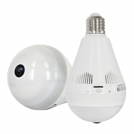 960P 360 Degree 1.3MP Light Shaped Smart Home IP VR Camera