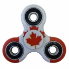 Dayspirit Canadian Flag Pattern Finger Toy EDC Hand Spinner