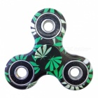 Dayspirit Green Leaves Pattern Finger Toy EDC Hand Spinner