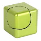 Dayspirit Rubik's Cube Shape Hand Spinner EDC Toy for ADHD - Green