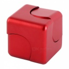 Dayspirit Rubik's Cube Shape Hand Spinner EDC Toy for ADHD - Red