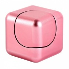 Dayspirit Rubik's Cube Shape Hand Spinner EDC Toy for ADHD - Pink