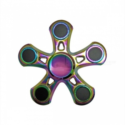 Dayspirit Pentagon Shaped Stress Relief Hand Spinner - Multicolor