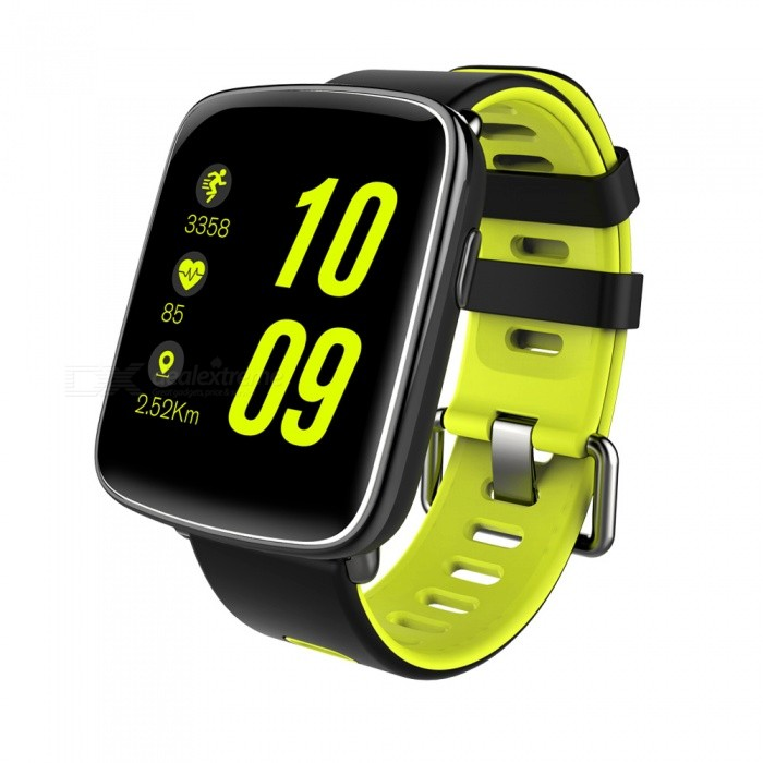Eastor GV68 Waterproof Bluetooth Smart Watch with Heart Rate - GreenSmart Watches<br>Form  ColorGreenModelGV68Quantity1 setMaterialMetal + SiliconeShade Of ColorGreenCPU ProcessorMT2502DScreen Size1.54 inchScreen Resolution240 x 240 pixelTouch Screen TypeTFTBluetooth VersionBluetooth V4.0Compatible OSIOS and AndroidLanguageEnglish,France,Spanish,Polish,Portugal,Italian,German, RussianWristband Length24.5 cmWater-proofIP68Battery ModeNon-removableBattery TypeLi-polymer batteryBattery Capacity360 mAhStandby Time7 daysPacking List1 x Smart Watch1 x USB Cable1 x English Manual<br>