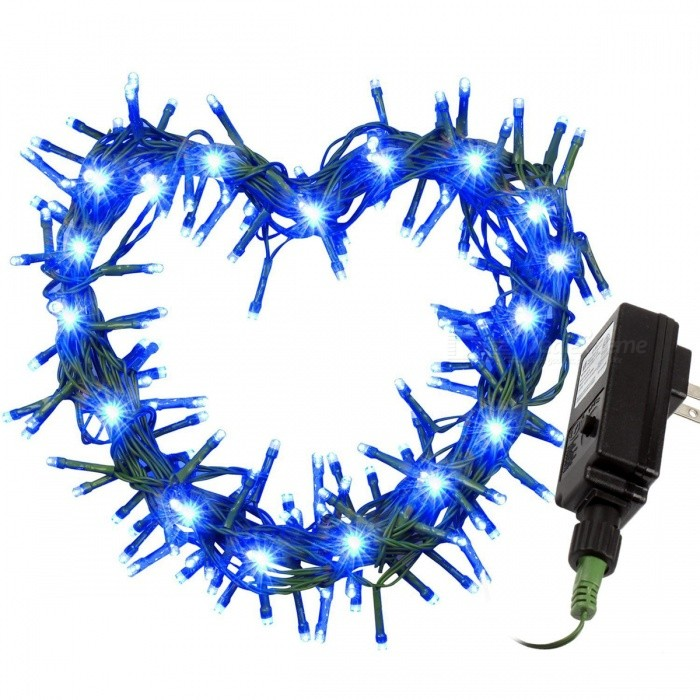 31V 10m 100-LED 8-Mode Blue Light Starry String Light (US Plugs)