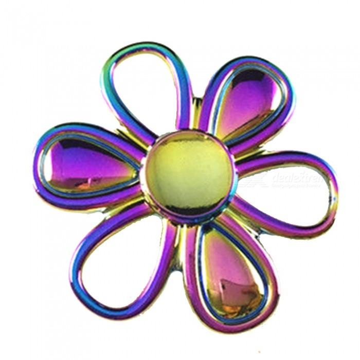 OJADE Flower Hand Spinner Fidget Fingertip Gyro Toy - Coloré